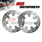 270MM Front Brake Disc Rotor 2pcs For KAWASAKI Z 450 LTD 1984-&&&&