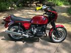 1984 BMW R-Series  1984 Cherry red BMW R100CS with cafe fairing