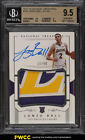 2017 National Treasures Lonzo Ball ROOKIE RC AUTO PATCH 99 #102 BGS 9.5 (PWCC)