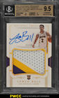 2017 National Treasures 1st Off Line Lonzo Ball RC AUTO PATCH 15 BGS 9.5 (PWCC)
