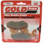 Rear Disc Brake Pads for Hyosung RX 125 SM 2007 125cc  By GOLDfren