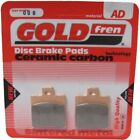 Front Disc Brake Pads for Benelli Pepe 50 LX 1999 50cc  By GOLDfren