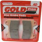 Front Disc Brake Pads for Moto Guzzi Breva 1100 ABS 2007 1064cc By GOLDfren