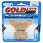 Rear Disc Brake Pads for Cagiva W8 125 1997 125cc  By GOLDfren