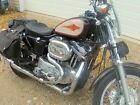 Chrome Thunderheader 2 into 1 Exhaust Pipe System Harley Sportster Mid Controls