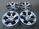 20 DODGE RAM 1500 LARAMIE OEM FACTORY WHEELS RIMS CHROME CLAD 2019 6 LUG