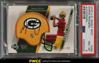 2005 Upper Deck Sweet Spot Aaron Rodgers ROOKIE RC AUTO PATCH 199 PSA 8 (PWCC)