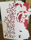 Christmas card kit Stampin Up red glitter
