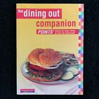 WEIGHT WATCHERS Dining Out Companion 123 SUCCESS Book Points Restaurants Eating