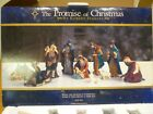The Promise of Christmas Nativity Set by Robert Stanley Deluxe 11 Piece Set 2011