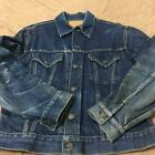 Vintage Levis Big E Jeans Jacket 557XX 3rd Denim Size42 F S from JAPAN