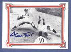 The Willie Mays Story #21 Autograph Trading Card RGI 1964 Stamp Certified Mint