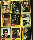 1977 TOPPS STAR WARS CARDS SERIES 3 YELLOW COMPLETE SET GOOD TO VERY GOOD COND.