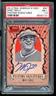 2013 PANINI AMERICA'S PASTIME SIGNATURES AUTO #MT MIKE TROUT PSA 7.5 ON CARD 75