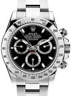 Rolex Daytona Chronograph Steel Black Dial Mens Watch & Box Z 116520