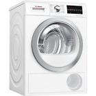 Bosch WTW85493GB Serie 6 8kg Freestanding Heat Pump Tumble Dryer Whit WTW85493GB