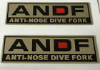 SUZUKI RG250 RG250W ANTI-NOSE DIVE FORKS ANDF RESTORATION DECALS