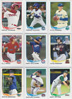 2013 Topps Pro Debut Baseball Variation Short Prints Guide 32