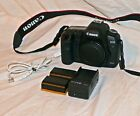 Canon EOS 5D Mark II 211MP DSLR Body Only w 2 batt charger strap EX++ READ
