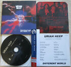 Uriah Heep ‎Different World Japan CD BVCM-93542 mini-vinyl mini lp