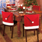 Christmas Santa Hat Dining Chair Back Covers Party Xmas Table Decoration USA