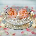 BalsaCircle Floating Candle Glass Bowl Vase Centerpiece 10 wide