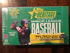 2013 Topps Heritage Minor League Baseball Box Sealed Two Autos One Memorabilia