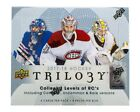 2017-18 UPPER DECK TRILOGY HOCKEY HOBBY BOX FACTORY SEALED NEW