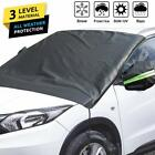 Car Frontrear Windshield Snow Cover Ice Frost Guard Winter Protector Suv Truck