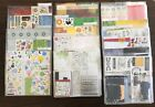 Creative Memories Huge Lot of Paper Stickers Plastic Sleeves and 2 Totes