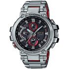 Casio MT-G Stainless Steel Solar Bluetooth MULTIBAND 6 Silver Red MTGB1000D-1A
