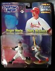 Roger Maris Mark McGwire 1999 Starting Lineup Classic Doubles Yankees Cardinals