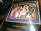 Dimensions Gold Collection The Birth Of Christ 8563 Cross Stitch Kit Nativity