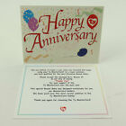 TY Beanie Baby Thank You Letter Card for MC Anniversary Bear #1