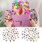 50Pcs/Pack Colorful Mini Hair Clip Children Bow Love Crown Flower Girl Claw Clip