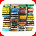 HO Scale FREIGHT CAR Variety Lot - Box,Tank,Gondola,Hopper Cars - Horn Hook Cplr