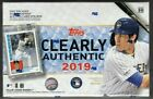 2019 TOPPS CLEARLY AUTHENTIC BASEBALL HOBBY BOX FACTORY SEALED NEW