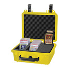 Graded Card Storage Box for PSA BGS Pokemon  Other Cards Yellow Waterproof Case