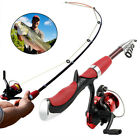 Micro Spinning Fishing RodReel Set Carbon Ultra Light Fishing Pole Tackle Tools