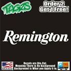 Remington Guns 2nd Amendment Nra Diecut Vinyl Window Decal Sticker Car Truck Suv