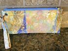 NWT Hobo wristlet in floral fantasy VI 32185FANF 100 genuine leather