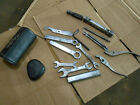 Honda Silver Wing 500 GL500 GL 500 1982 82 tool kit box holder wrenches wrench