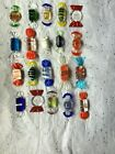 Lot Glass Candy Murano 20 Candy Pieces Wrapped Candy Art