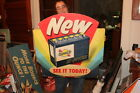 Vintage 1950's Sunoco Batteries Battery Gas Station 28