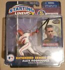 Alex Rodriguez Starting Lineup 2 Extended Series w/ Foil Trading Card 2001 New