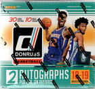 2018-19 Panini Donruss Basketball Factory Sealed Hobby Box 10 Packs 2 AUTOS
