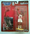 ALONZO MOURNING 1998 STARTING LINEUP NBA MIAMI HEAT SLU