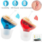 MiNi Digital Invisible Hearing Aid CIC Small Sound Voice Amplifier Enhancer US