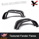 Fit 2007 2017 Jeep Wrangler JK UNLIMITED Textured Steel Flat Style Fender Flares