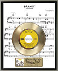 Looking Glass Brandy Youre A Fine Girl Record Sheet Music Poster Art Plaque
